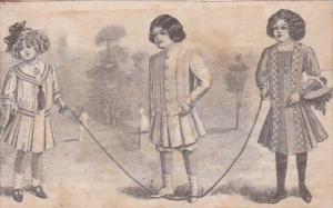 Children Playing Jump Rope