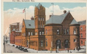 SPRINGFIELD , Massachusetts, 1910s ; Post Office