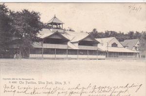 The Pavilion, Utica Park, Utica, New York, PU-1907