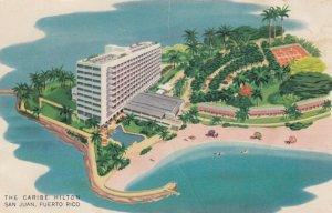SAN JUAN , Puerto Rico, 1940-60s; Caribe Hilton Hotel