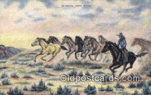 No. 31 Artist L.H. Larson Postcards Post Cards Old Vintage Antique unused