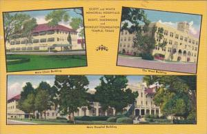 Texas Temple Scott and White Memorial Hospitals Multi View 1954