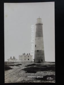 Kent DUNGENESS LIGHTHOUSE c1920 RP Postcard by G.A. Cooper
