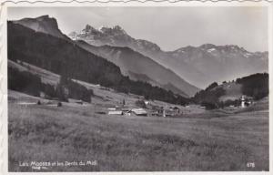 Switzerland Les Mosses et les Dents du Midi 1952 Photo