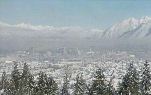VANCOUVER, British Columbia, Canada, 1940-1960's; Unusual Snow