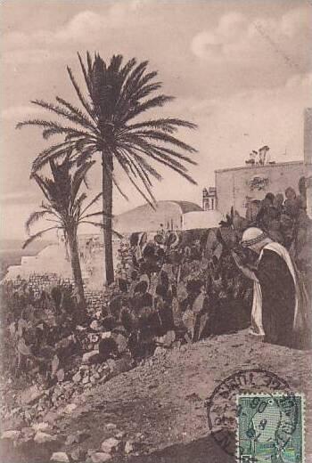 Tunisia La priere 1906