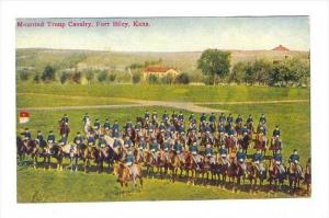 Mounted Troup Cavalry, Fort Riley, Kansas, 1900-1910s