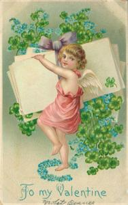 To My Valentine - Vintage postcard - 01.58