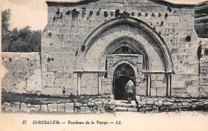 Israel Jerusalem - Tombeau de la Vierge