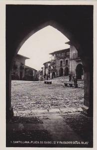 RP: Santillana , Spain , 20-30s ; Plaza de IsabellII y Parador de Gil Bas