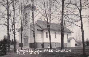 RP: Evangelical Free Church , ISLE , Minnesota , 1940s