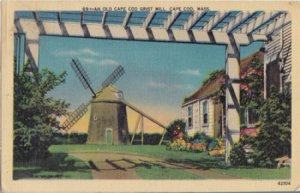 Cape Cod MA - Old Cape Cod Grist Mill 1930/40s