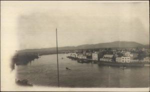 Valdivia Chile c1910 Real Photo Postcard