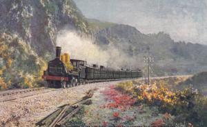 France , Express de Clermont-Ferrand a Bordeaux, Railroad Train, 1900-10s : T...