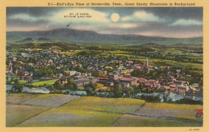 SEVIERVILLE, Tennessee, 1930-40s; Bird's Eye