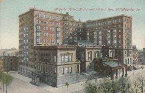 PHILADELPHIA , Pennsylvania , 1900-10s; Majestic Hotel, Broad & Girard Ave.