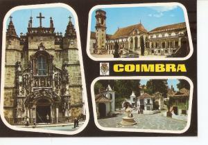 Postal 029724 : Coimbra (Portugal) Igreja de Sta. Cruz