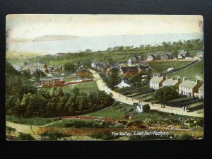 Wales LLANFAIRFECHAN The Valley Road c1906 Postcard by The Wrench 12057