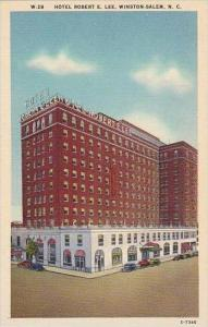 North Carolina Winston Salem Hotel Robert E Lee