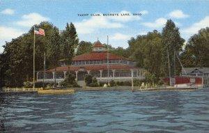 LPS72 BUCKEYE LAKE Ohio Yacht Club Postcard