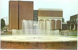 Macon County Court House & Memorial Fountain Franklin NC
