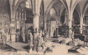 LE MANS, France,1900-10s, Musee Archeologique