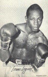 Isaac Logart Boxer, Boxing Unused