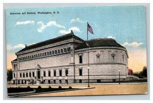 Vintage 1910's Postcard Panoramic View Corcoran Gallery of Arts Washington DC