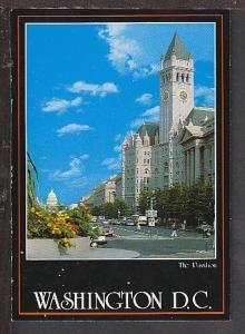 Pavilion Washington DC Postcard BIN