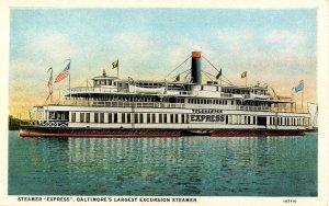 Steamer Express, Baltimore
