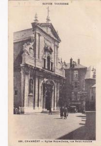 France Chambery Eglise Notre Dame rue Saint Antoine