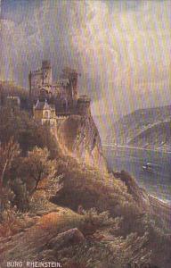 GERMANY, 1900-1910´s; Burg Rheinstein