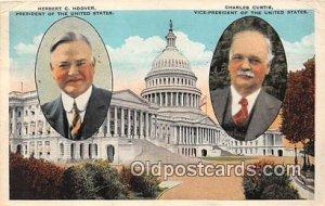 Herbert C Hoover, Charles Curtis 1929