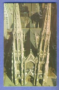 New York/NY Postcard, Saint Patrick's Cathederal