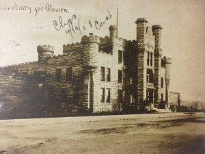 Postcard 1908 Illinois State Penitentiary Prison For Women Chicago