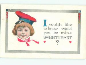 Divided-Back CHILDREN SCENE Great Postcard AA5532