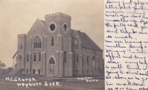 RP: WEYBURN , Saskatchewan , Canada , PU-1907 ; M.E. Church