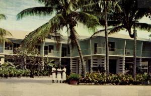 fiji islands, KOROLEVU, Beach Hotel (1960s)