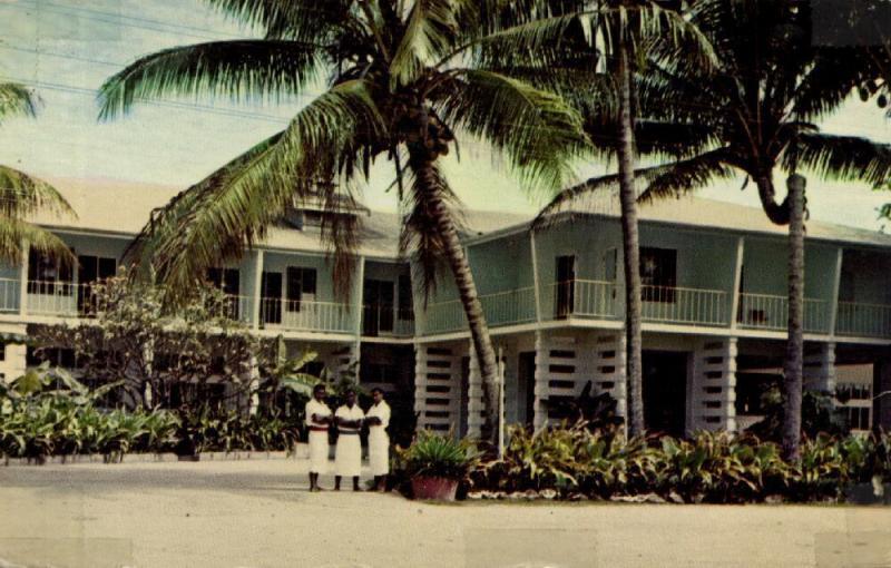 fiji islands, KOROLEVU, Beach Hotel (1960s)