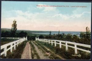 View at Horton Landing,Grand Pre,Nova Scotia,Canada