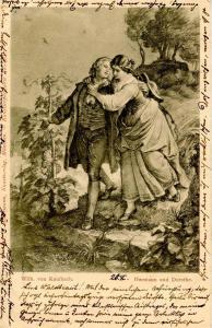 Germany - Hermann and Dorothe    *Artist: Wilhelm von Kaulbach