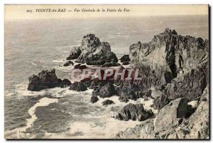 Postcard Old Pointe Du Raz Vue Generale of Van Pointe
