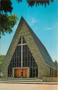 Margaretville New York~Catholic Church Of The Sacred Heart~A Frame~1950s PC