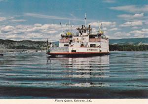 Ferry  FINTRY QUEEN , KELOWNA , B.C. , Canada , 50-70s