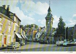 Wales Hay-On-Wye Town Clock
