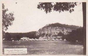 Wisconsin Chippewa Falls The Lost Battalion Real Photo RPPC
