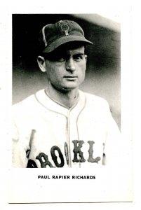 Paul Rapier Richards, Brooklyn Dodgers