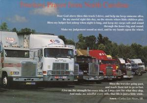 North Carolina The Truckers Prayer From Carlos Lee Akers Sr