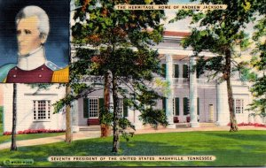 Tennessee Nashville The Hermitage Home Of Andrew Jaackson