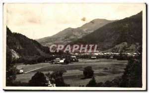 Thones Old Postcard General view and colomban